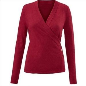 cabi Ballet Sweater Wrap Cardigan